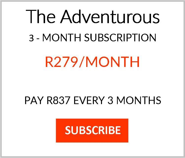 No Memo subscription plan Adventurous