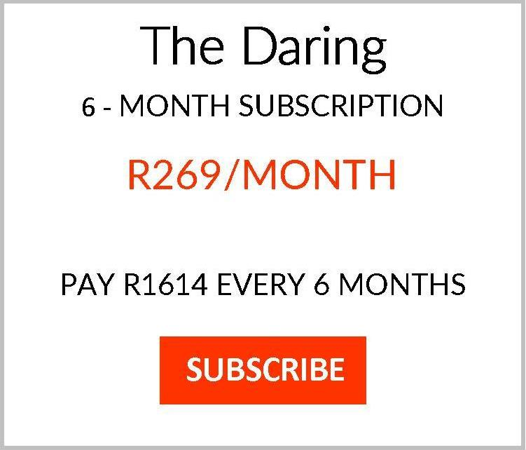 No Memo subscription plan Daring